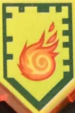 Rollender Feuerball