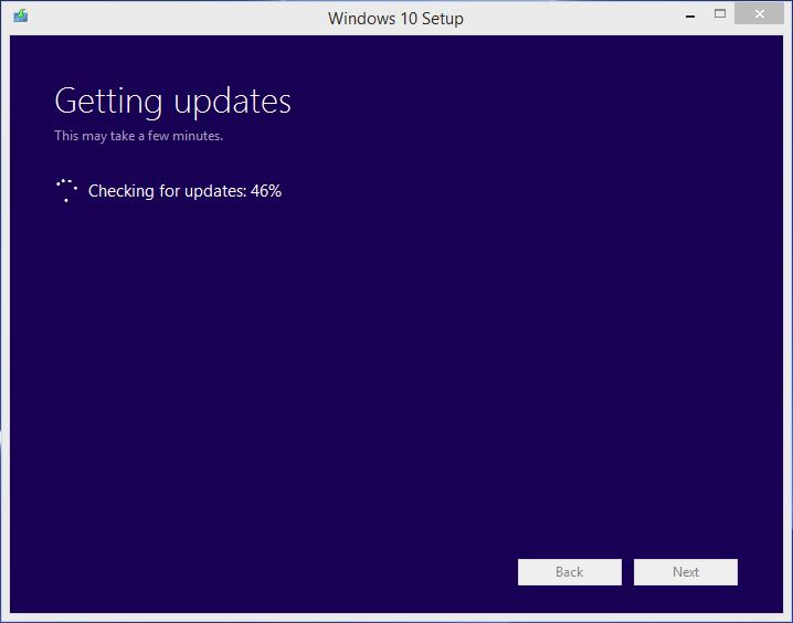 Windows Update hängt bei 46%