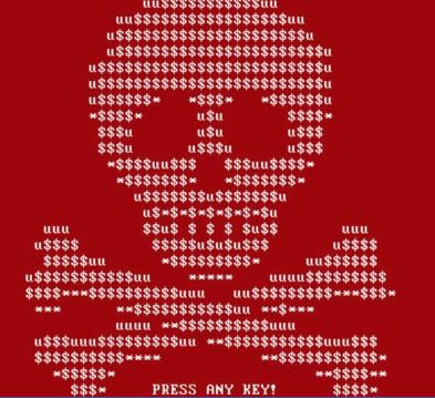 Ransomware Skull